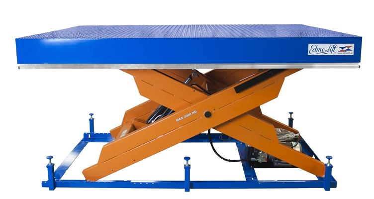 Перегрузочный подъемный стол TTV 2