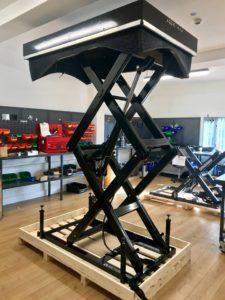 подъемный стол с двойными вертикальными ножницами TMD 1500
