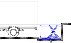 Установка ножничного подъемного стола в приямок схема