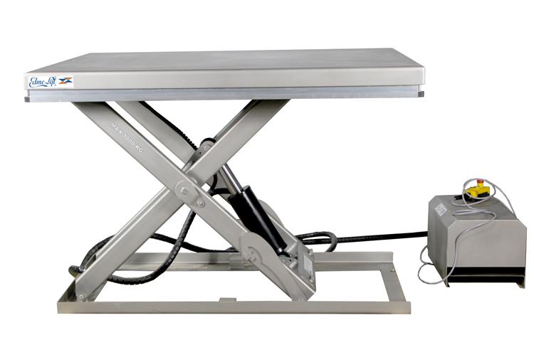 Гидравлический подъемный стол из нержавеющей стали TL 1000SS