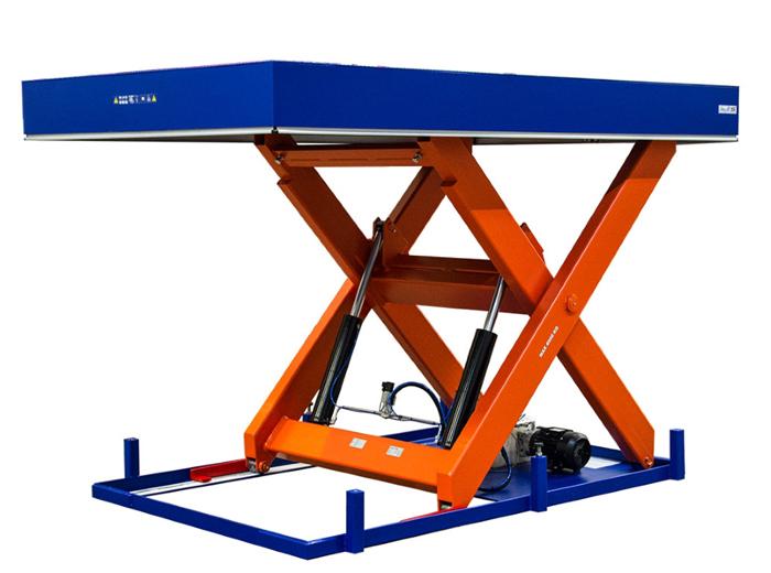 Перегрузочный подъемный стол