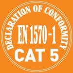 высшая категория стандарта EN 1570-1