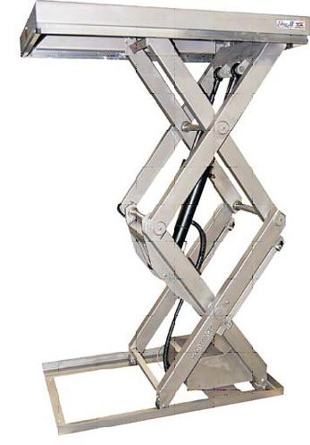 Подъемные столы Edmolift нержавеющия сталь