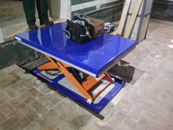 Подъемные столы Edmolift